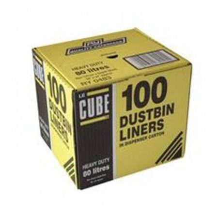 Le Cube Dustbin Liner Dispenser Pack (100) - DiscountCoffee