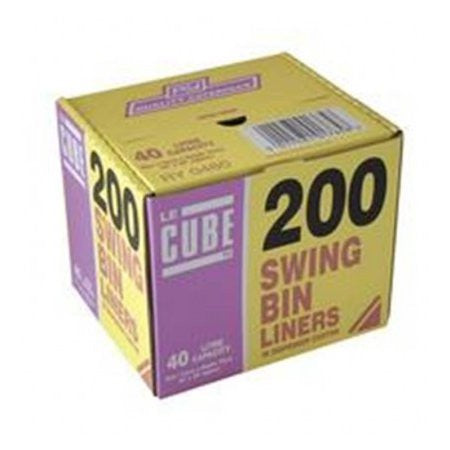 Le Cube Swing Bin Liner Dispenser Pack (200) - DiscountCoffee