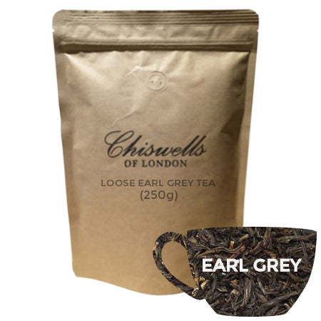 Chiswells Loose Earl Grey Tea 250g | Discount Coffee