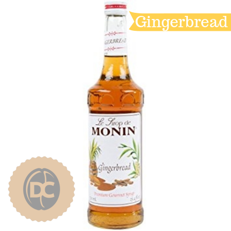 Monin Gingerbread Flavouring Syrup (1 Litre)