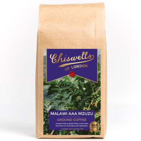 Chiswells Malawi AAA Mzuzu Ground Coffee (1kg) | Discount Coffee