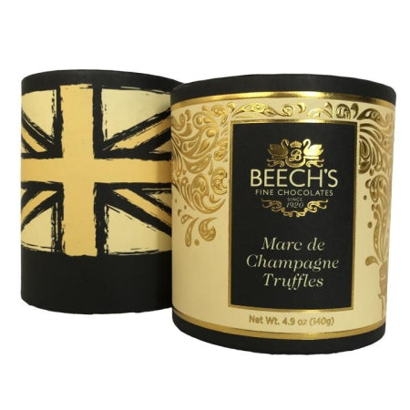 Beechs Luxury Marc de Champagne Truffles (140g) | Discount Coffee