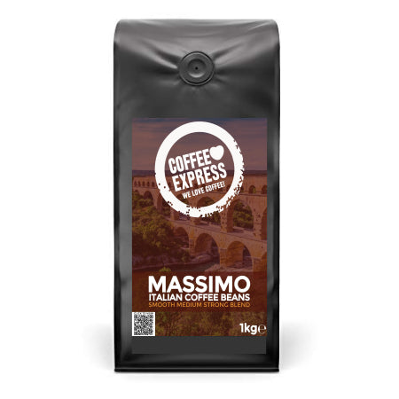 Coffee Express Massimo Italian Coffee Beans (4x1kg) | Discount Coffee