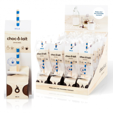 Choc-O-Lait - Stir In Hot Chocolate - Milk (33g)