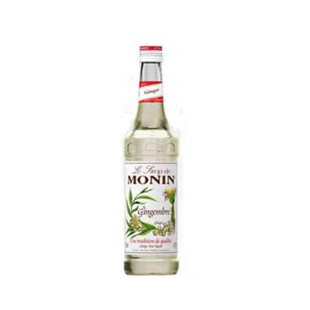 Monin Ginger Flavouring Syrup (700ml) - DiscountCoffee