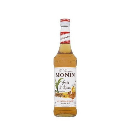 Monin Gingerbread Flavouring Syrup (1 Litre) - DiscountCoffee