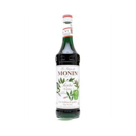 Monin Green Mint Flavouring Syrup (700ml) - DiscountCoffee