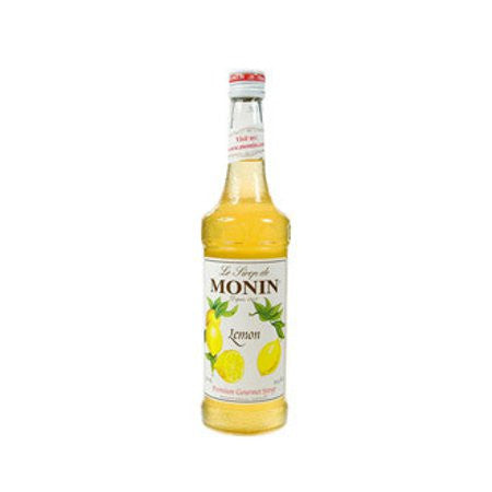 Monin Lemon Flavouring Syrup (700ml) - DiscountCoffee