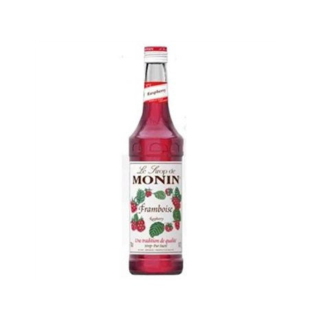 Monin Raspberry Flavouring Syrup (700ml) - DiscountCoffee