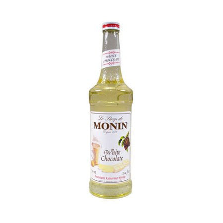 Monin White Chocolate Flavouring Syrup (700ml) - DiscountCoffee