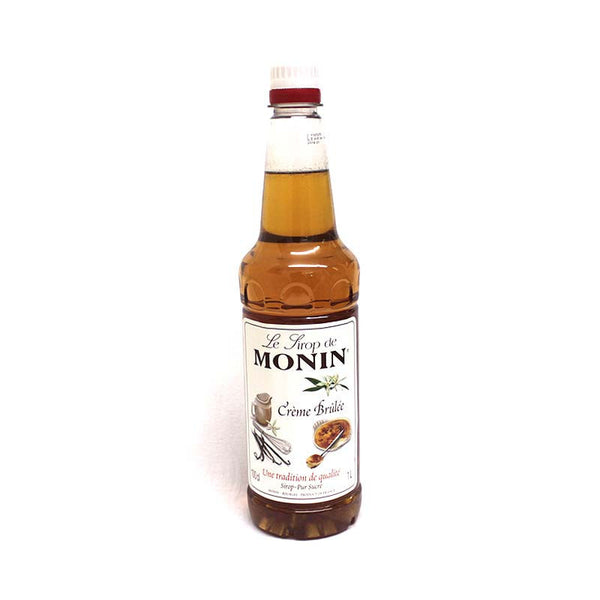 Monin Creme Brulee Flavouring Syrup (1 Litre) - DiscountCoffee