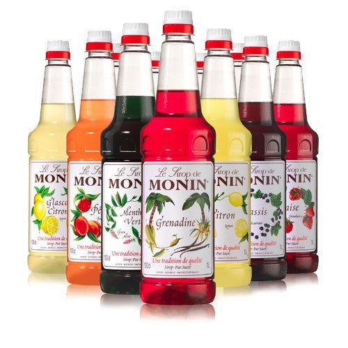 Monin Hazelnut Flavouring Syrup (1 Litre) - DiscountCoffee