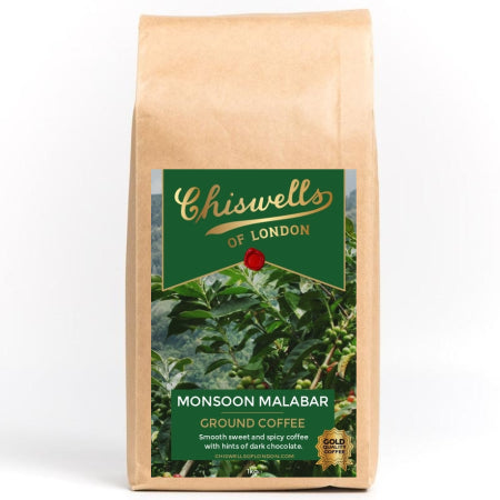 Monsoon Malabar Ground Coffee (1kg) | Discount Coffee
