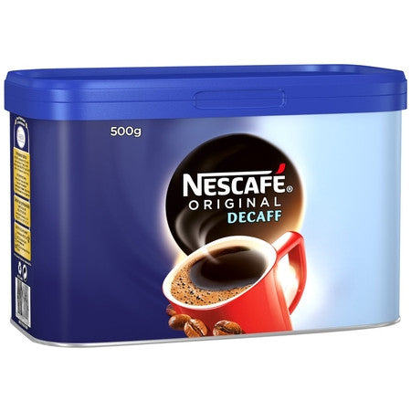 Nescafe Original Decaffeinated Coffee Granules (500g) - DiscountCoffee