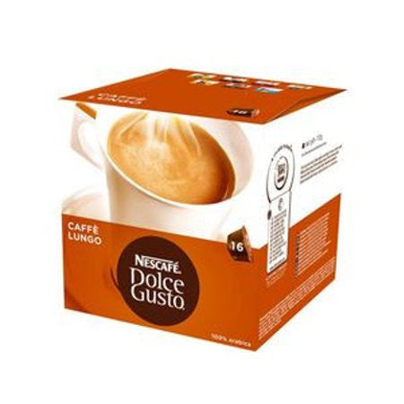 Nescafe Dolce Gusto - Caffee Lungo 100% Arabica (Pack of 16)