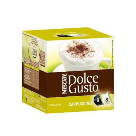 Nescafe Dolce Gusto - Cappuccino Coffee (Pack of 8)
