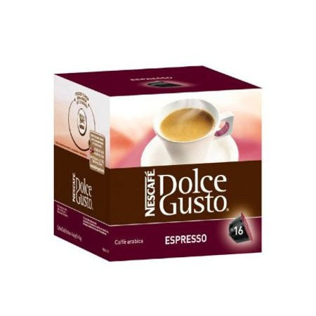 Nescafe Dolce Gusto - Espresso Coffee Pods (16) - DiscountCoffee