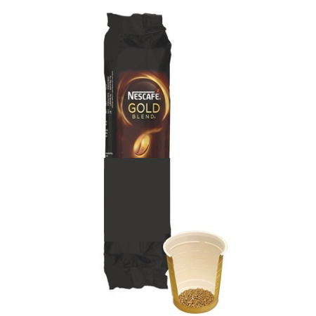 Nescafe Gold Blend 73mm Incup White Coffee (25 Cups)