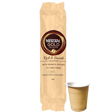 Nescafe Gold Blend 73mm Incup White Coffee (25 Cups) | Discount Coffee