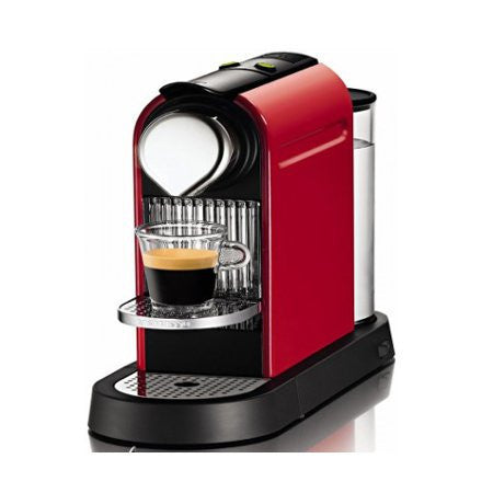Nespresso Citiz in Fire Engine Red - DiscountCoffee