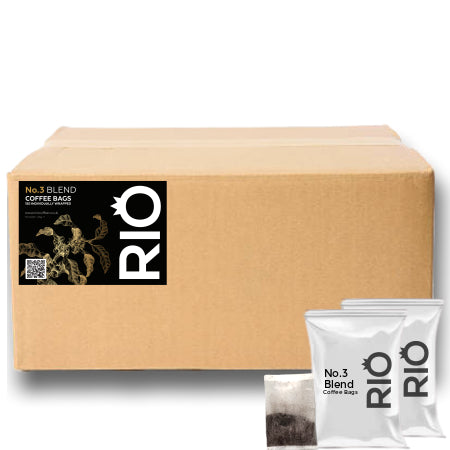 Rio No.3 Blend Coffee Bags - Bulk Buy (150) | Discount Coffee