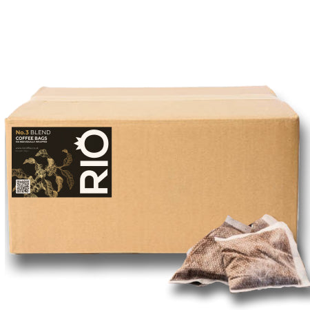 Rio No.3 Blend Coffee Bags - Bulk Buy (150)