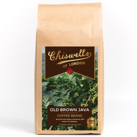 Chiswells Old Brown Java Coffee Beans 1kg | Discount Coffee