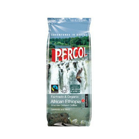Percol African Ethiopia Fairtrade & Organic Ground Coffee (227g)