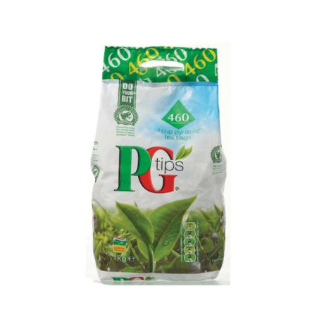 PG Tips Pyramid Tea Bag Pack (460) - DiscountCoffee