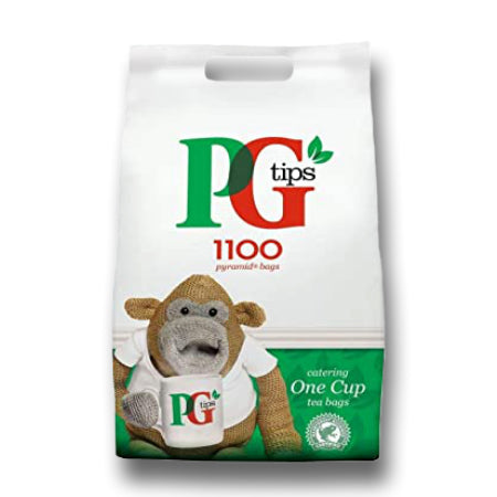 PG Tips One Cup Tea Bag 1100 Tea Bags | Discount Coffee