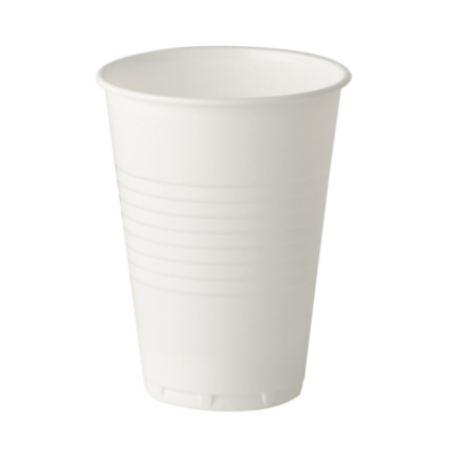 7oz Tall Plastic Vending Hot Drink Cup White 2000