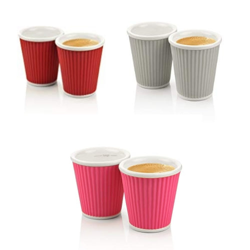 2 Espresso Cups Gift Box | Discount Coffee