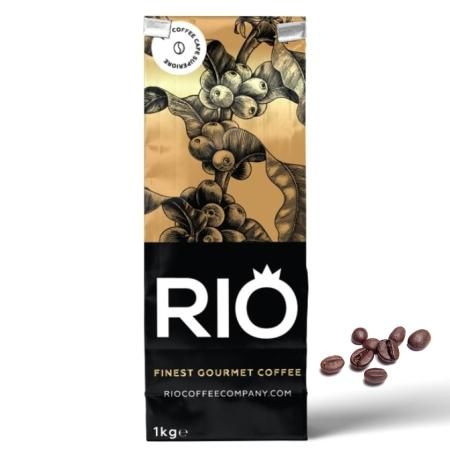 Rio Decaffeinated Coffee Beans (4x1kg) | Discount Coffee