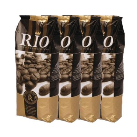 Rio Espresso Oro Barista Ground Coffee (4x1kg) Buy 10 - FREE MACHINE - DiscountCoffee