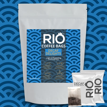Rio Decaf Delight Coffee Bags - (10 Bags) | Discount Coffee