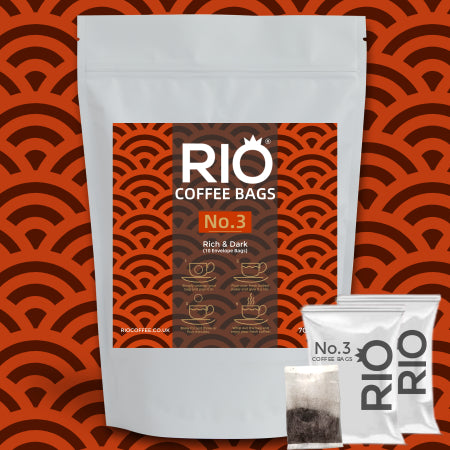 Rio No.3 Blend Coffee Bags - (10 Bags) | Discount Coffee