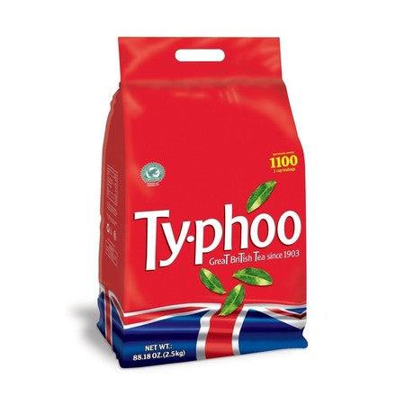 Typhoo Fresh Brew Tea Bags (1100) - DiscountCoffee