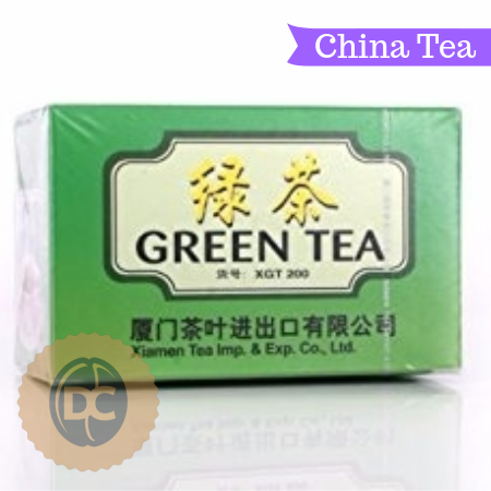 Green Tea Bags (20 Bags)-Chinese Tea - DiscountCoffee