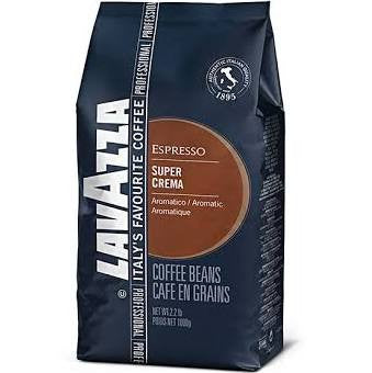 Lavazza Super Crema Coffee Beans (1kg) - DiscountCoffee