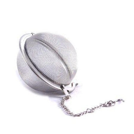 Stainless Steel Tea Ball Infuser Strainer - DiscountCoffee