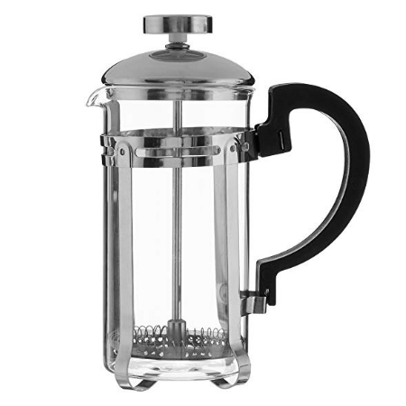 Glass & Brushed Stainless Steel Cafetiere (2 Cup)