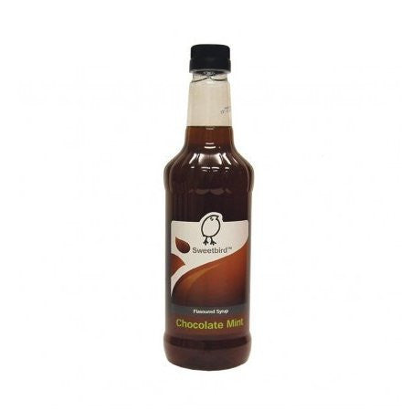 Sweetbird Chocolate Mint Syrup (1 Litre) - DiscountCoffee