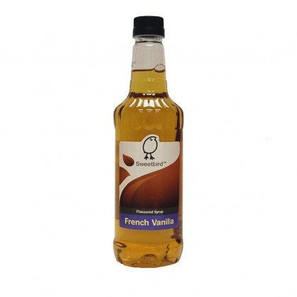 Sweetbird French Vanilla Flavouring Syrup  (1 Litre) - DiscountCoffee