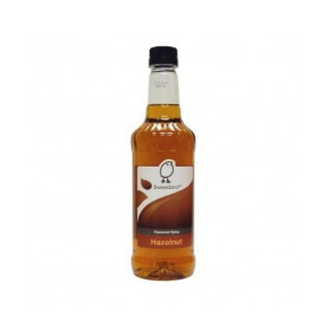 Sweetbird Hazelnut Flavouring Syrup (1 Litre) - DiscountCoffee