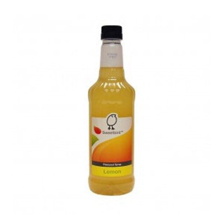 Sweetbird Lemon Flavouring Syrup (1 Litre) - DiscountCoffee