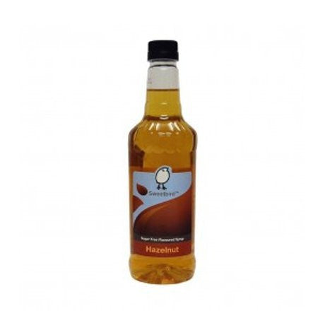 Sweetbird Sugar Free Hazelnut Flavouring Syrup (1 Litre) - DiscountCoffee