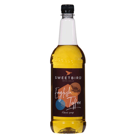 Sweetbird English Toffee Syrup - discount coffee