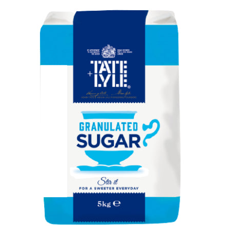 Tate & Lyle Granulated White Sugar 5kg | Discount Coffee