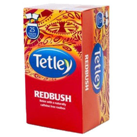 Tetley Redbush Tea (25 bags) - DiscountCoffee