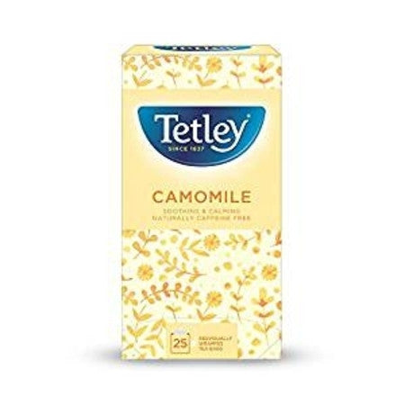Tetley Camomile Herbal Infusion (25 bags) - DiscountCoffee